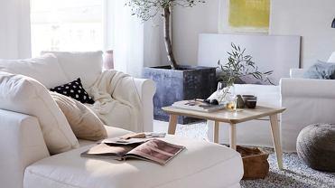 Wielofunkcyjny salon na niewielkiej przestrzeni