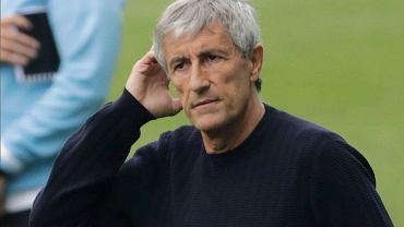 Quique Setien w niczym nie pomógł drużynie Barcelony