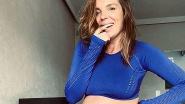 Agnieszka Włodarczyk pokazała ciążowy brzuszek. 'Teraz fajnie chwalić się brzuchem, a po porodzie dziwnie nosić go z dumą'