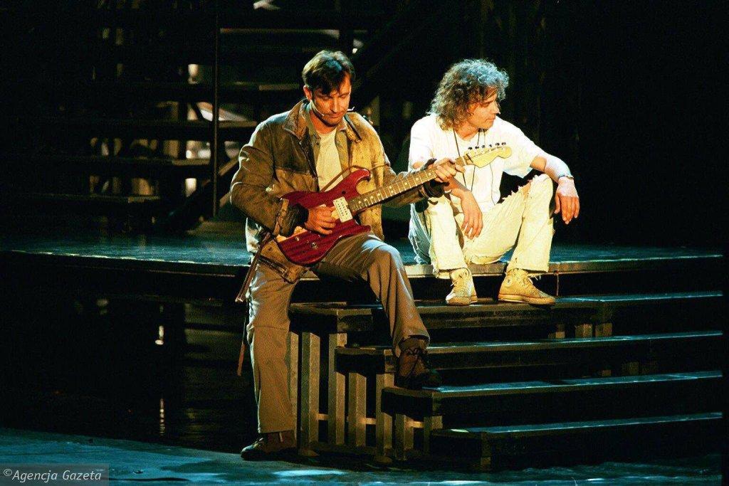 Dariusz Kordek i Robert Janowski w musicalu