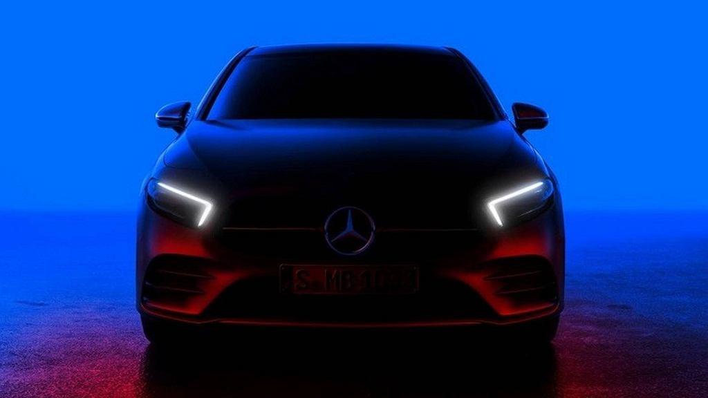 Mercedes Klasy A 2018 (teaser)