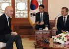 Prezydent Korei Południowej: W 2030 roku możemy zorganizować mistrzostwa świata z Koreą Północną