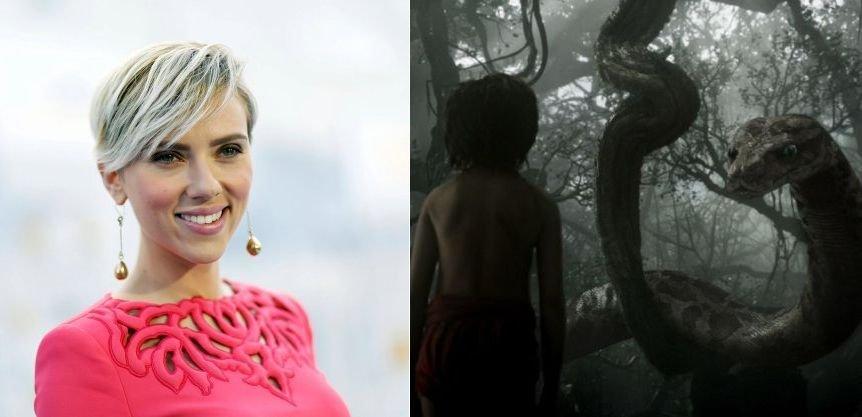 Scarlett Johansson wystąpi jako Kaa w