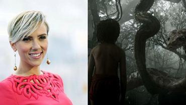 """Scarlett Johansson wystąpi jako Kaa w """"Księdze dżungli"""""""