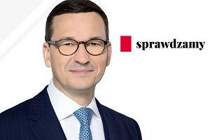 Wiedza ujemna Mateusza Morawieckiego. Czy premier wie, ile dostajemy z Unii? [SPRAWDZAMY]