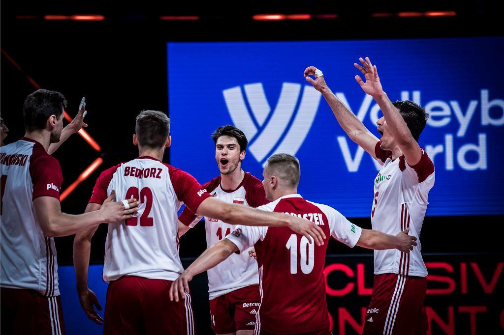 Liga Narodów: Iran - Polska, siatkówka