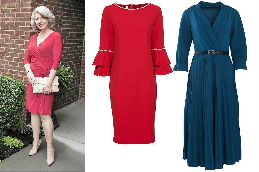 826e10dd2b Eleganckie sukienki dla 60 latki mogą wyglądać bardzo efektownie