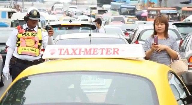 Nietypowa taksówka