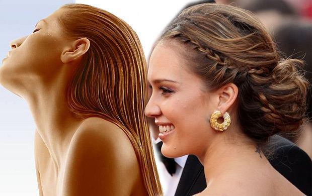 5 prostych fryzur z mokrych włosów