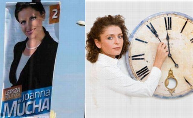 Joanna Krupa ruszyła z kampanią! Wybory już niedługo, więc jej sztab obkleił plakatami niemal każdą ulicę w Lublinie. Uśmiecha się z nich oczywiście