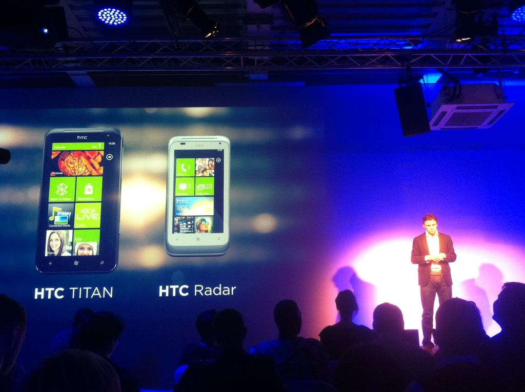 HTC Titan i Radar