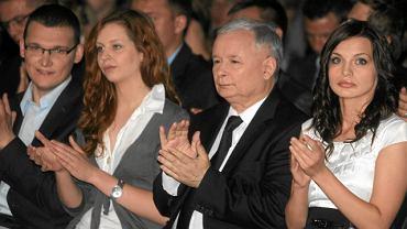 Jarosław Kaczyński podczas kongresu młodych PiS