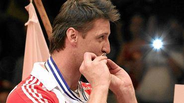 Piotr Gruszka z medalem mistrzostw Europy 2011