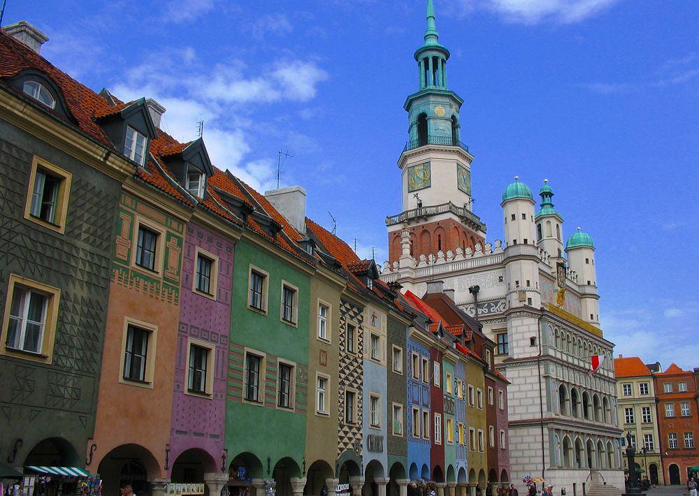 Zabytki Poznania - Stary Rynek i Ratusz