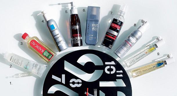 Preparaty przeznaczone do wzmacniania włosów