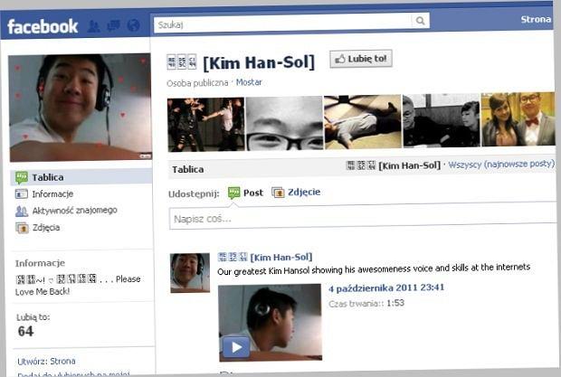 Wnuk Kim Dzong Ila na Facebooku