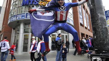 Kibic Winnipeg Jets
