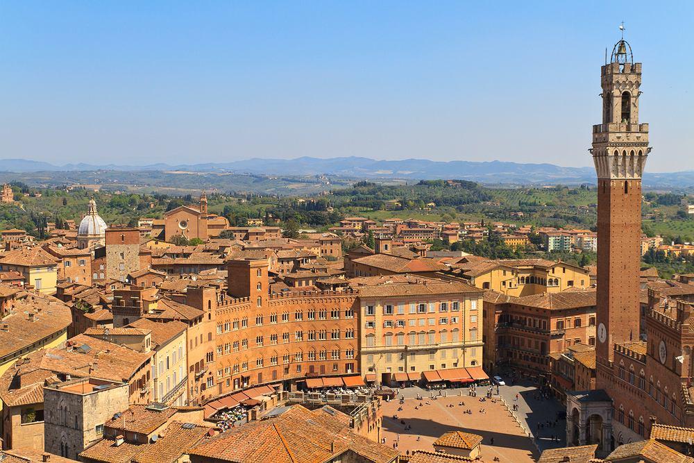 Siena, Toskania, Włochy