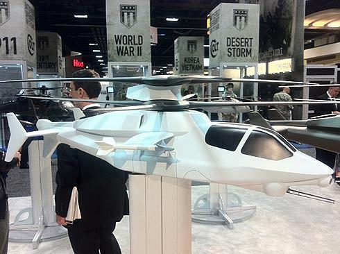 Projekt śmigłowca bojowego firmy Sikorsky