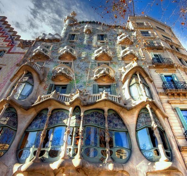 Hiszpania wycieczki, Barcelona zdjęcia - Casa Baio