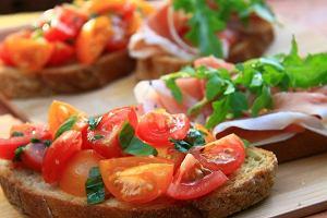 Menu dnia z włoskimi smakami