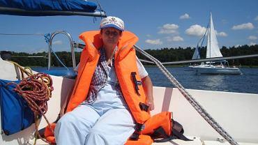 Mazury 2011. Przyjaciele, rodzina i aktywność fizyczna pozwoliły pani Grażynie nie stracić apetytu na życie