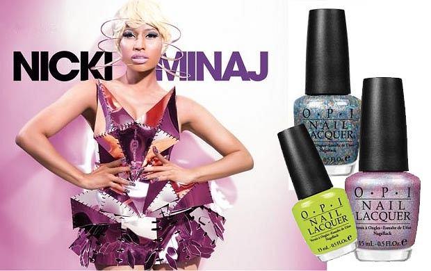 Nowa kolekcja lakierów Nicki Minaj