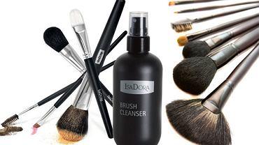 Pędzle do makijażu - jak często i czym należy je czyścić?