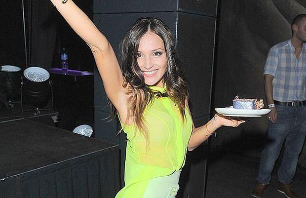 Marina Łuczenko w końcu doczekała się swojej pierwszej płyty. Z tej okazji odbyła się impreza promująca krążek. Niestety, gwiazdy nie dopisały.