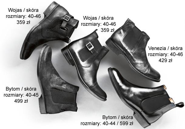 sztyblety, buty na jsesień, buty