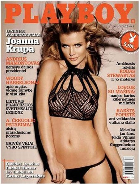 Playboy i Joanna Krupa