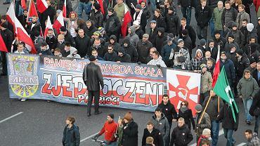 Marsz Niepodległości w Warszawie.