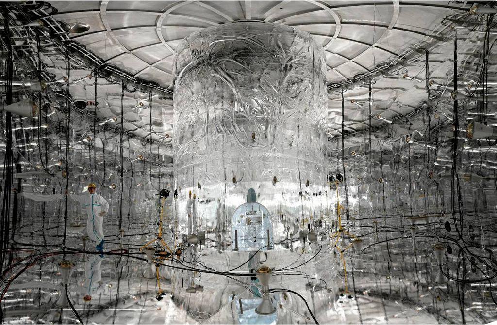 Detektor neutrin we włoskim masywie Gran Sasso w Apeninach