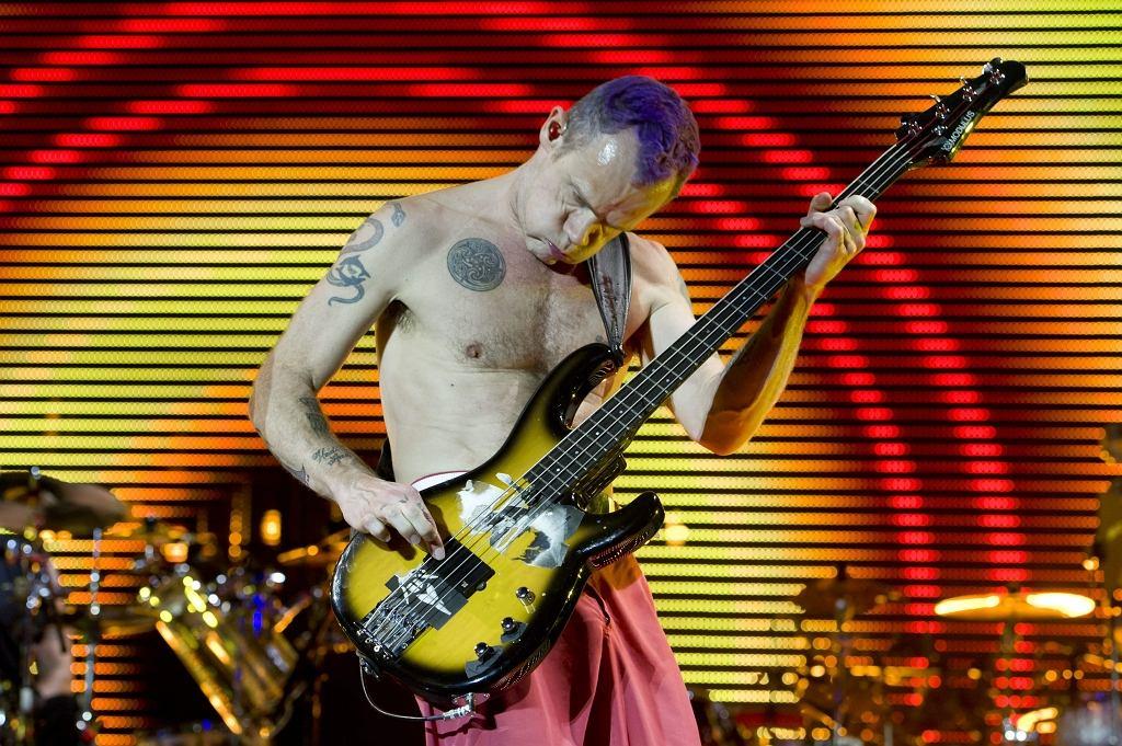 Flea, basista zespołu Red Hot Chili Peppers