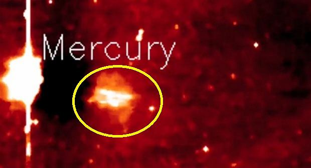 Tajemniczy obiekt niedaleko Merkurego