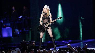 Madonna na koncercie w Warszawie