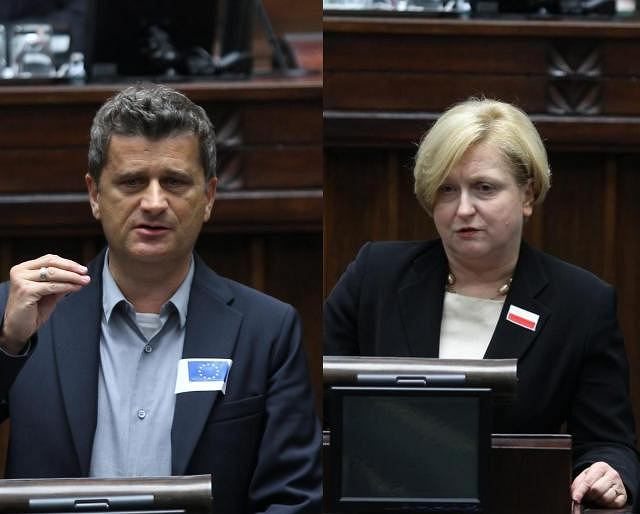 Janusz Palikot, Anna Fotyga