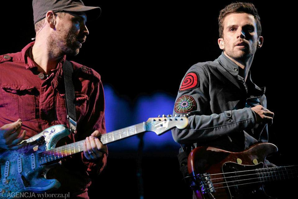 Koncert Coldplay w czasie festiwalu Opener, 30 czerwca 2011, Babie Doły, Gdynia