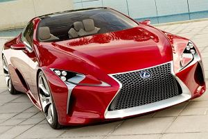 LF-LC - prekursor nowego wyglądu Lexusa
