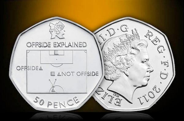 Moneta ilustrująca zasadę spalonego