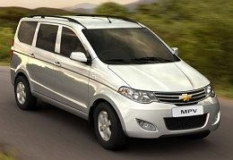 2012 New Deli - Chevrolet MPV