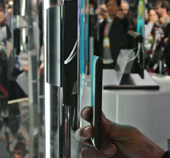 OLED LG kontra telefon