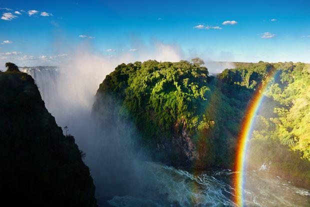 Wodospad Wiktorii - Zimbabwe