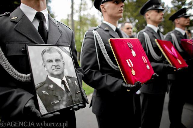 Pogrzeb gen. Andrzeja Błasika, kwiecień 2010 r.