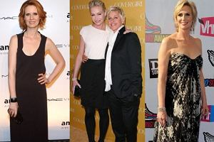 Cynthia Nixon, Ellen DeGeneres, Portia De Rossi, Jane Lynch.