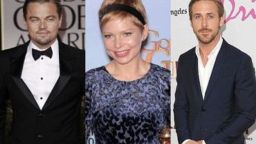 Leonardo Dicaprio, Michelle Williams, Ryan Gosling.