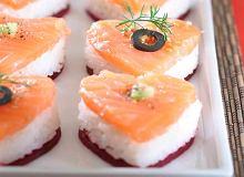 Serduszka - sushi - ugotuj