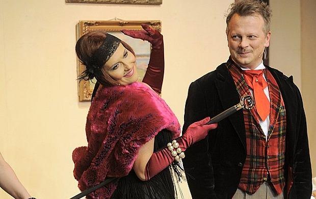 Katarzyna Skrzynecka i Piotr Szwedes.