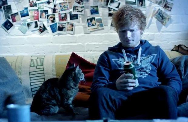Ed Sheeran, fot. stopklatka z teledysku