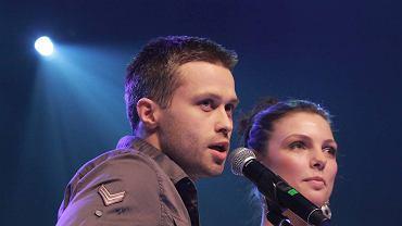 Maciej Zakościelny i Karolina Gruszka